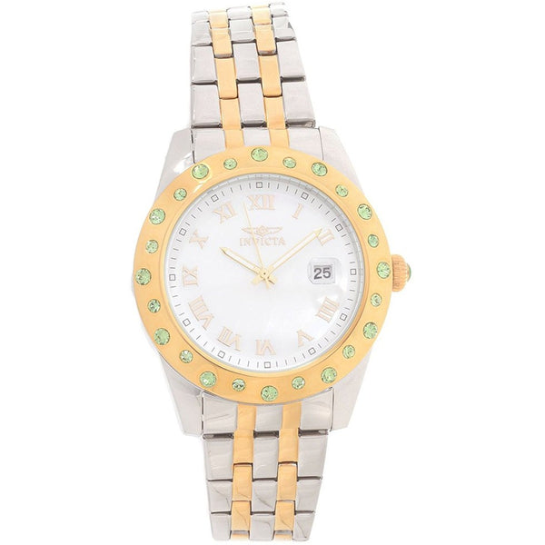 Invicta Angel Silver Dial Two tone Ladies Watch 18983