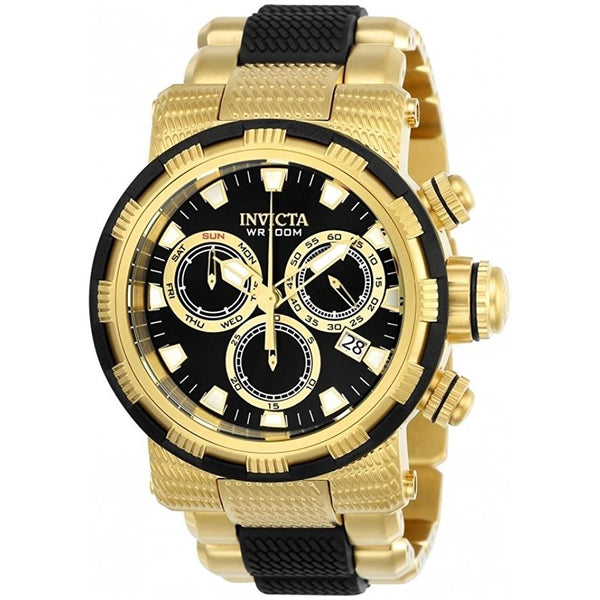 Invicta Men s Specialty Quartz Chronograph Black Dial Watch 23980