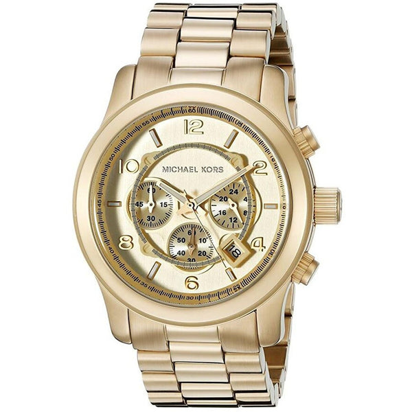 Michael Kor MK8077 Gold Tone Men s Watch