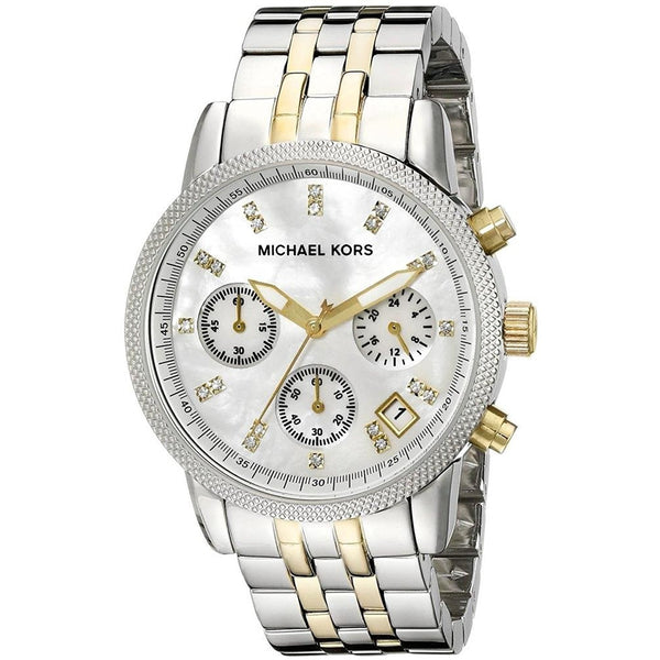Michael Kors MK5057 Women s Two Tone Chronograph Watch