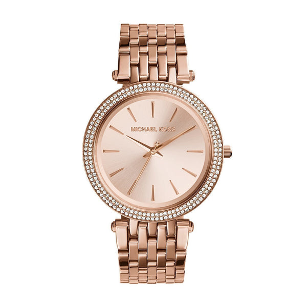 Women s Rose gold Tone Stainless Steel Watch MK3192