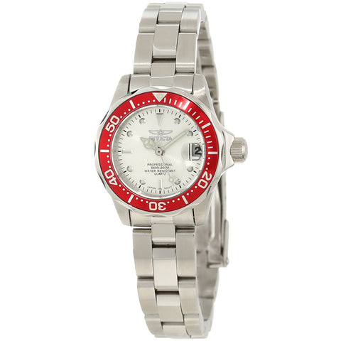Invicta Women s 12521 Pro Diver Silver Dial Stainless Steel Watch