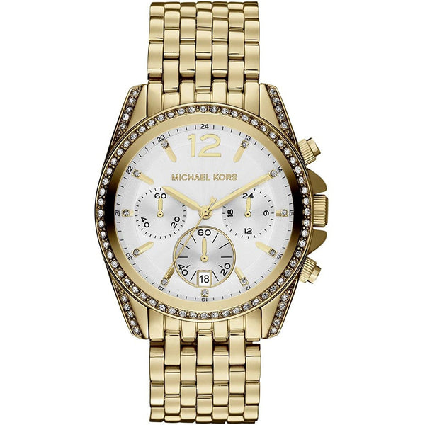 Michael Kors Mid Size Golden Pressley Chronograph Glitz Women s watch MK5835