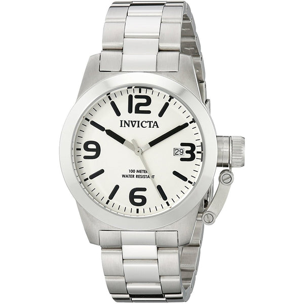Invicta Men s 14826 Corduba White Dial Stainless Steel Watch