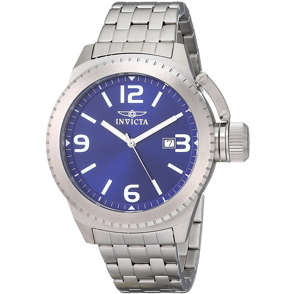Invicta Men s 0988 Corduba Blue Dial Stainless Steel Watch
