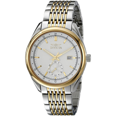Invicta Men s 18096 Specialty Analog Display Swiss Quartz Two Tone Watch