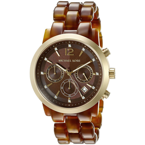 Michael Kors Women s Audrina Brown Watch MK6235