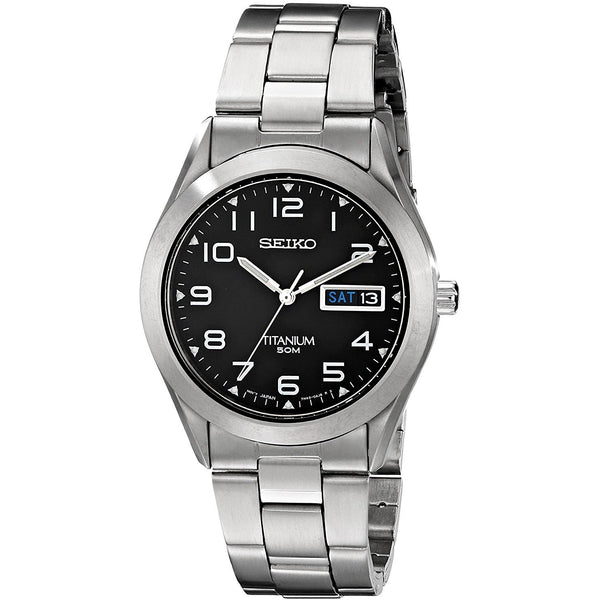 Seiko Men s SGG711 Titanium Watch