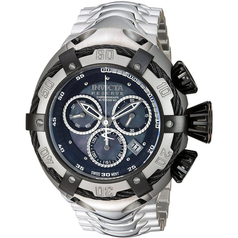 Invicta Men s Bolt Swiss Quartz Stainless Steel Casual Watch, Color Silver Toned Model 21344