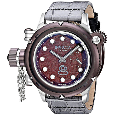Invicta Men s 16242 Russian Diver Analog Display Mechanical Hand Wind Two Tone Watch