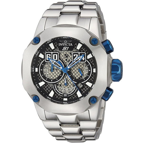 Invicta Men s 19430 S1 Rally Silver Tone Stainless Steel Watch