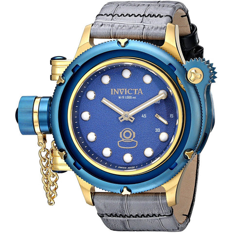 Invicta Men s 16198 Russian Diver Analog Display Mechanical Hand Wind Grey Watch