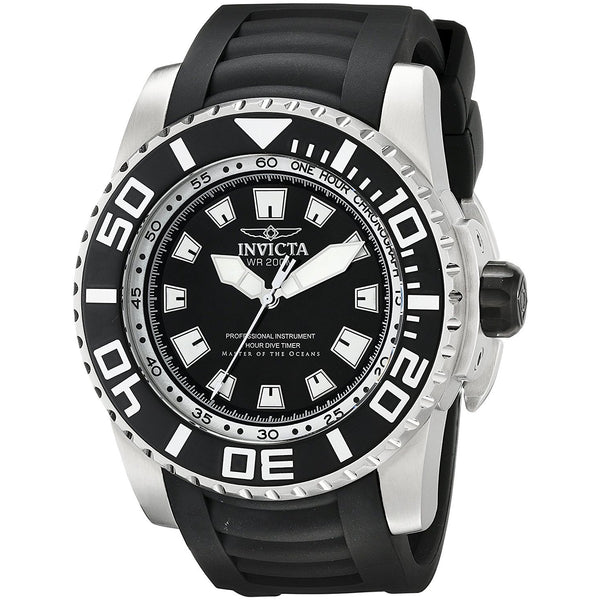 Invicta Men s 14660 Pro Diver Analog Display Swiss Quartz Black Watch