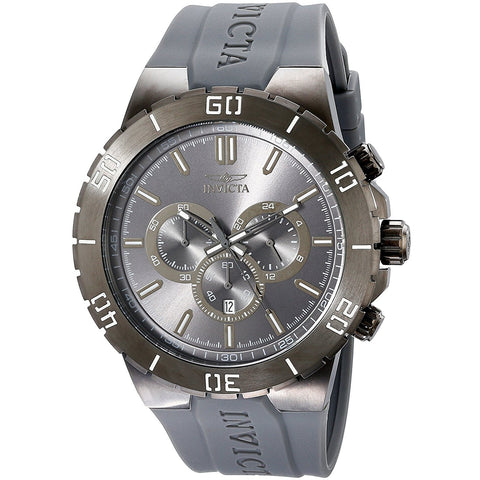 Invicta Men s 19199 Pro Diver Analog Display Japanese Quartz Grey Watch