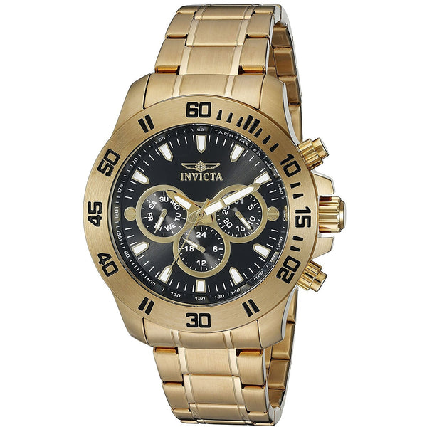 Invicta Men s 21487 Specialty Analog Display Swiss Quartz Gold Watch