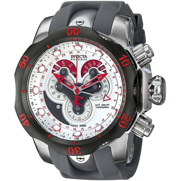Invicta Men s 14467 Venom Analog Display Swiss Quartz Grey Watch
