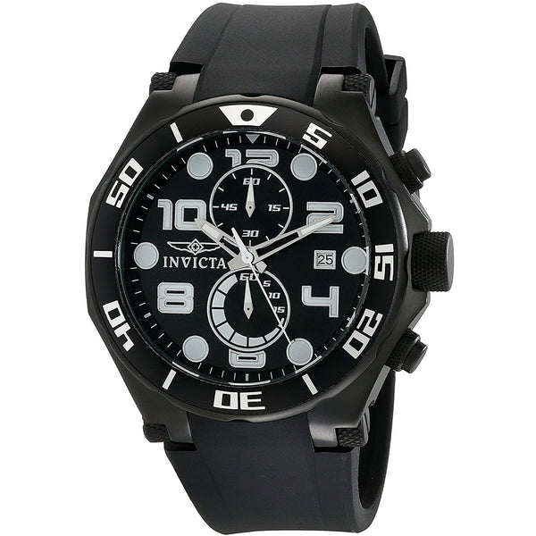 Invicta Men s 15397 Pro Diver Analog Display Japanese Quartz Black Watch