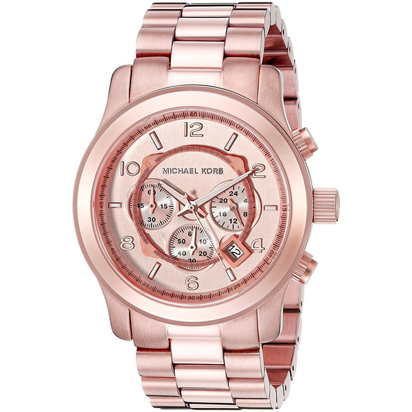 Michael Kors Men s Oversized Chronograph Watch Rose Goldtone