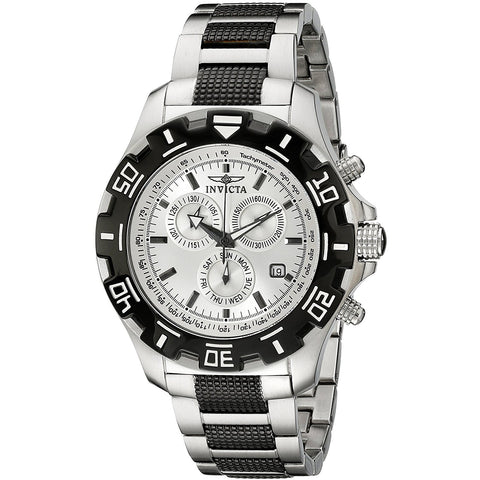 Invicta Men s 6409 Python Collection Chronograph Stainless Steel and Gun Metal Watch