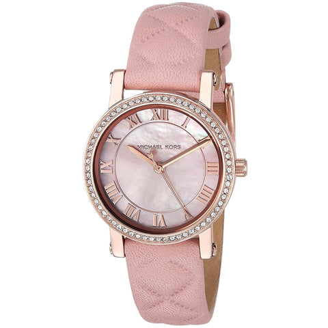 Michael Kors Watches Petite Norie Three Hand Watch