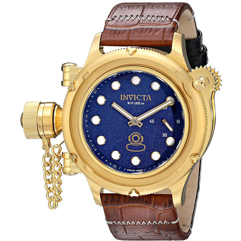Invicta Men s 16247 Russian Diver Analog Display Mechanical Hand Wind Brown Watch