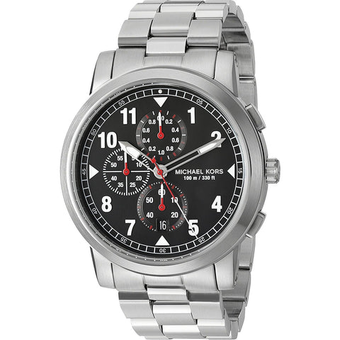 Michael Kors Men s Paxton Stainless Steel Chronograph Watch