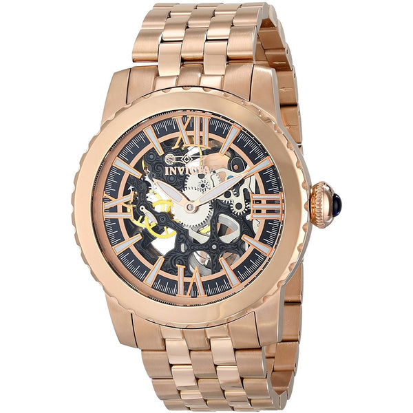 Invicta Men s 14553 Specialty Analog Display Mechanical Hand Wind Rose Gold Watch