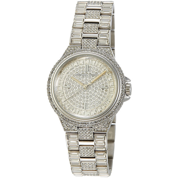 Michael Kors Camille Silver Crystal Pave Stainless Steel Ladies Watch MK5947