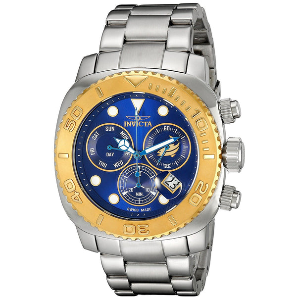 Invicta Men s INVICTA 14647 Pro Diver Analog Display Swiss Quartz Silver Watch