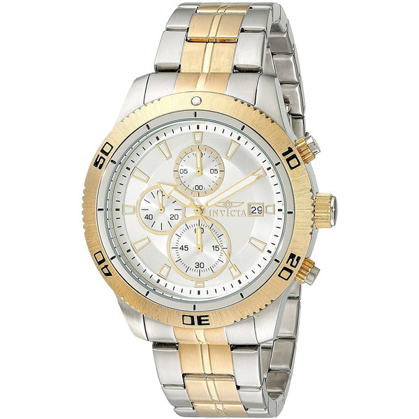 Invicta Men s 17441 Specialty Analog Display Japanese Quartz Two Tone Watch
