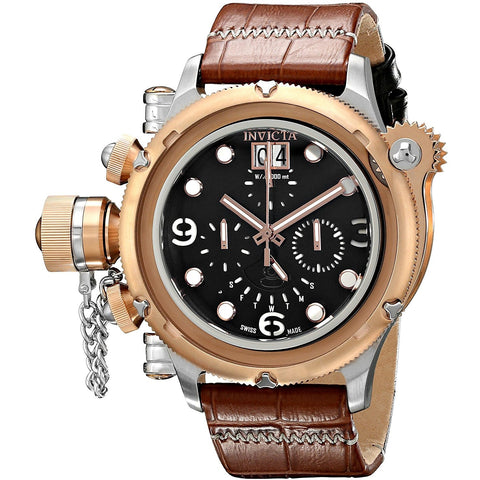 Invicta Men s 17347 Russian Diver Analog Display Swiss Quartz Brown Watch