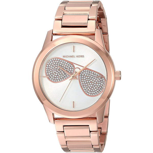 Michael Kors Women s Quartz Stainless Steel Casual Watch, Color Rose Gold Toned Model MK3673