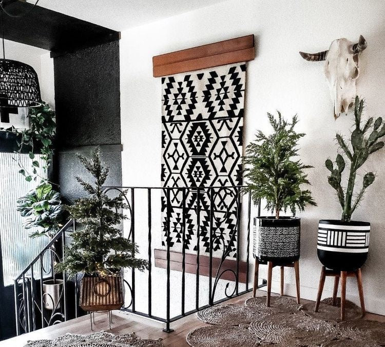 using rugs as a wall hanging