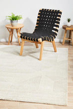 Aleyna  Grey Power Loomed Rug