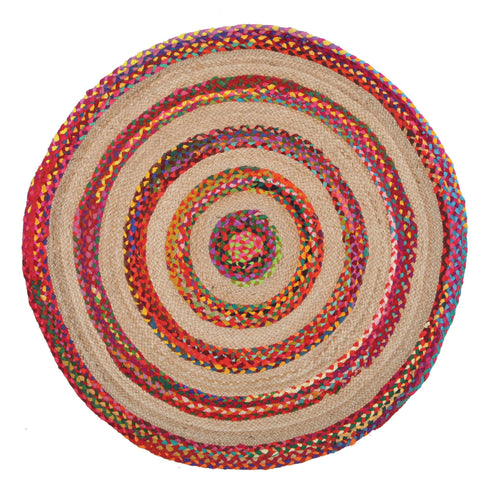 Asrin Target Multi-colour - star-rugs