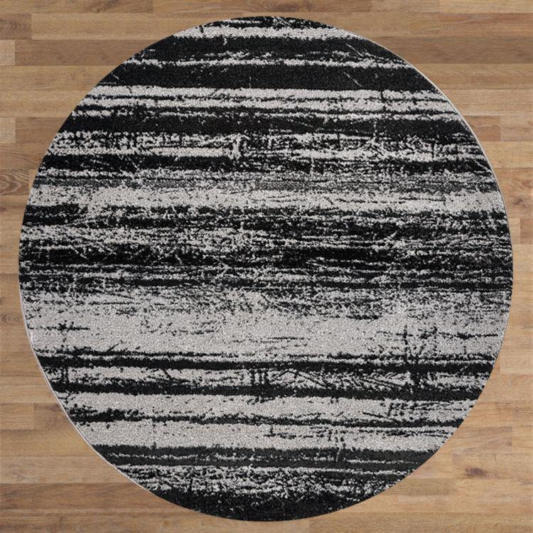 Bella Rugs 1093 Grey Round Rugs - star-rugs