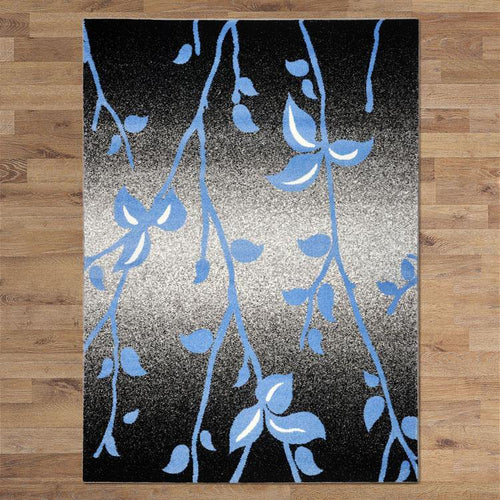 Bella Rugs 1589 Black - star-rugs