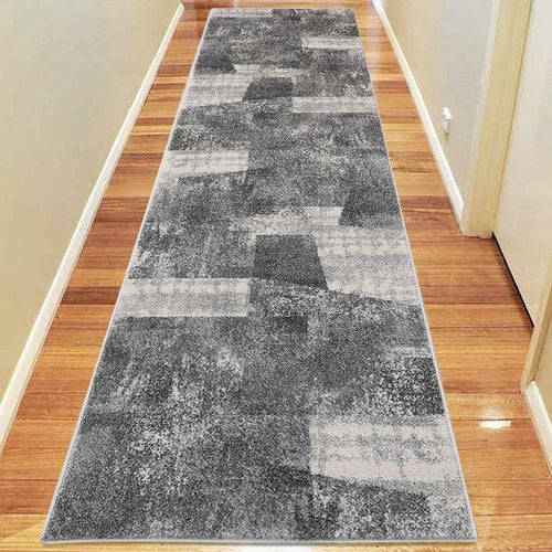 Avoca Collection 753 Grey Hallway Runner