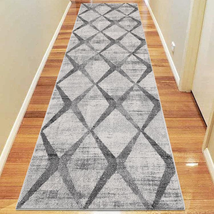 Avoca Collection 739 Grey Hallway Runner