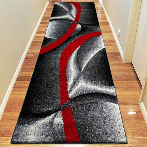 Atlanta 387 Graphite Hallway Runner - star-rugs