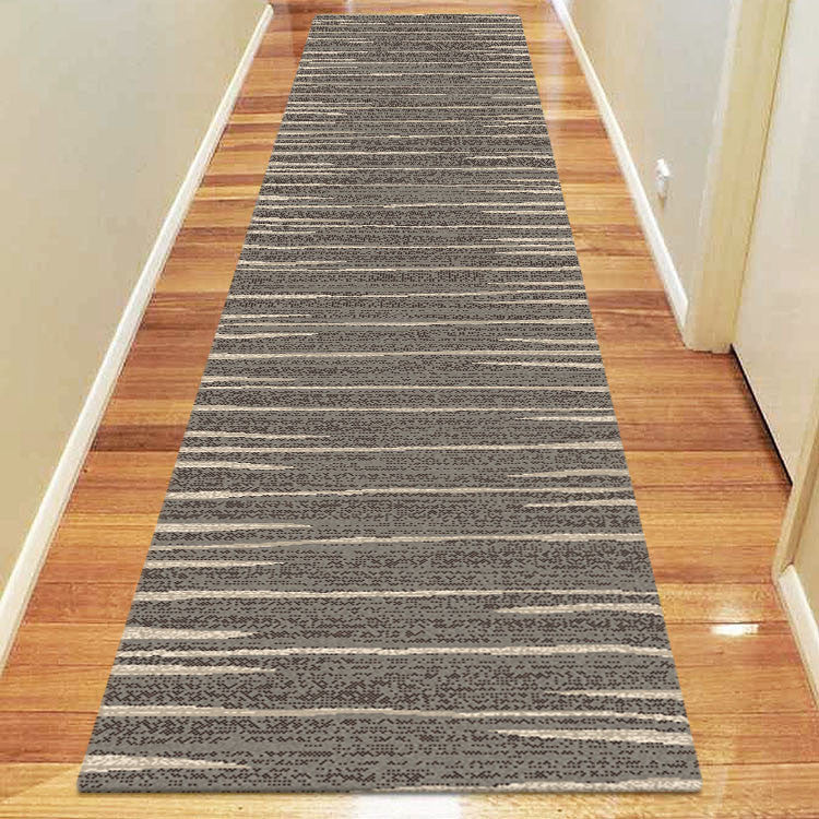 Avoca Collection 369 Ash Hallway Runner - star-rugs