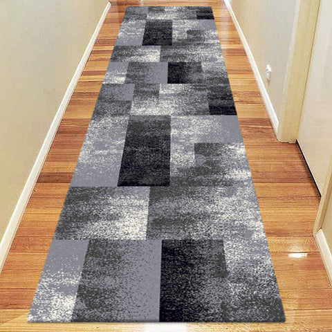 Avoca Collection 444 Grey Hallway Runner