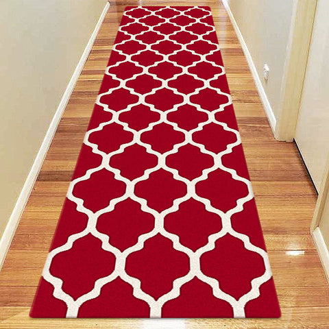 Avoca Collection 742 Red Hallway Runner