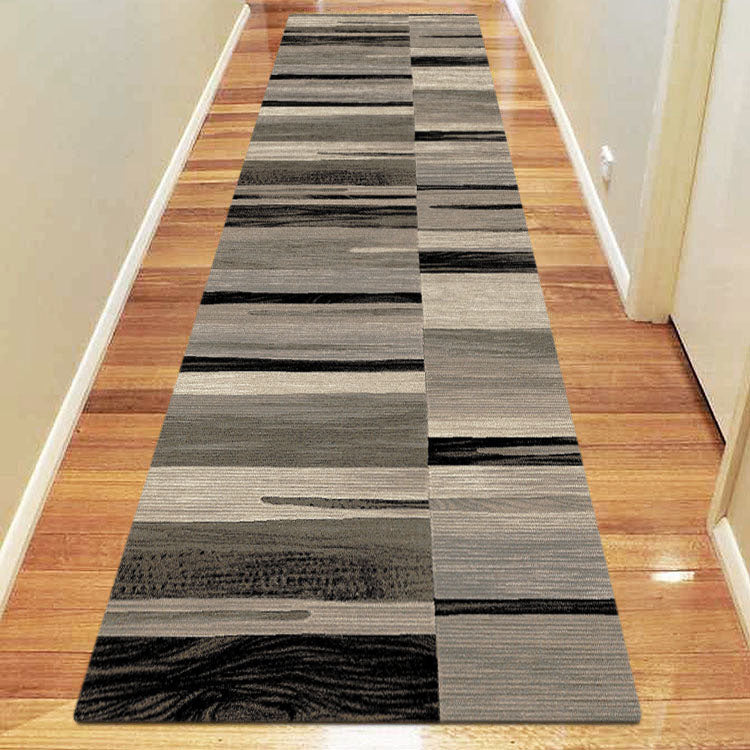 Chali Collection 7866 Brown Hallway Runner