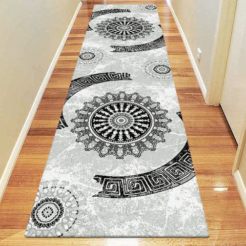 Chali Collection 6447 Grey Hallway Runner