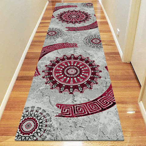 Chali Collection 6447 Red Hallway Runner