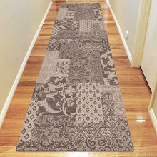 Chali Collection 0583 Brown Hallway Runner