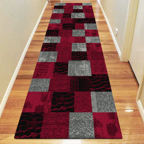 Chali Collection 1166 Red Hallway Runner