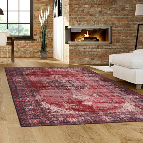 Devosion Vintage 2017 Red Rug