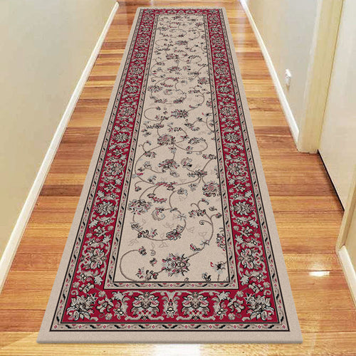 Diamond Collection 5937 Beige Hallway Runner
